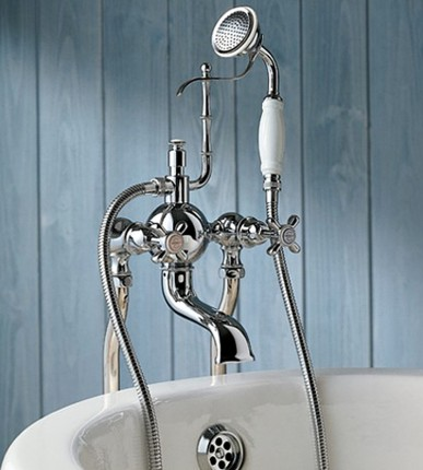 Royale Clawfoot Tub Filler And Hand Shower From Herbeau