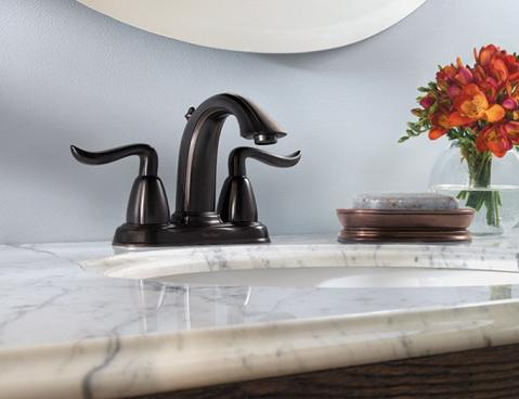 Santiago Centerset Faucet In Tuscan Bronze From Price Pfister
