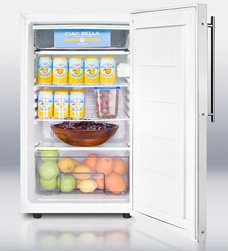 CM405BI Built In Under Cabinet Refrigerator And Freezer From Summit