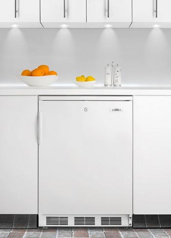 CT66BI Under Counter Compact Refrigerator From Summit