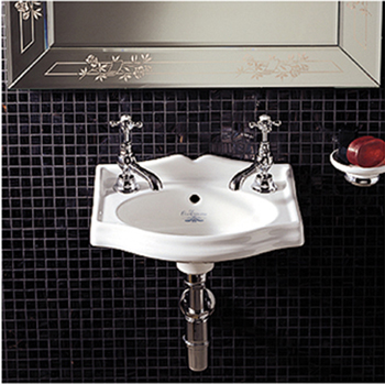 China Small Two-Tap Wall Mount Sink From Whitehaus