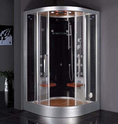 Corner Steam Shower For Two From Ariel
