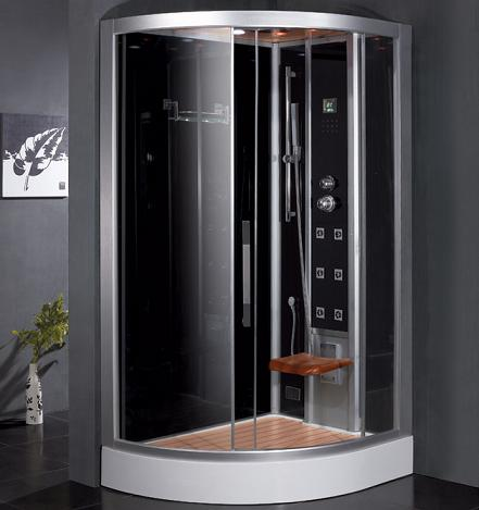 Corner Steam Shower From Ariel