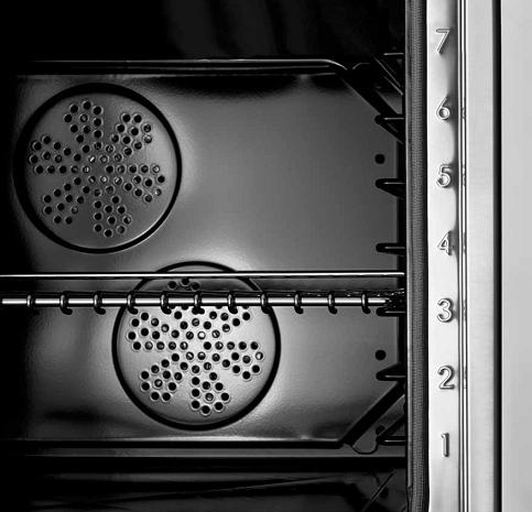 Dual Convection Fans In A Bertazzoni Convection Oven