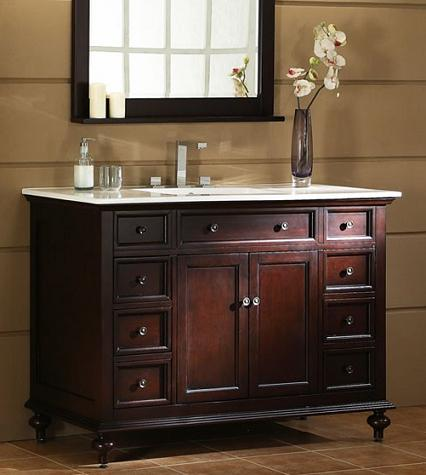 Glenayre Transitional Bathroom Vanity From Xylem