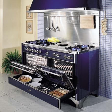 Majestic Range With Warming Drawers From ILVE by Eurochef