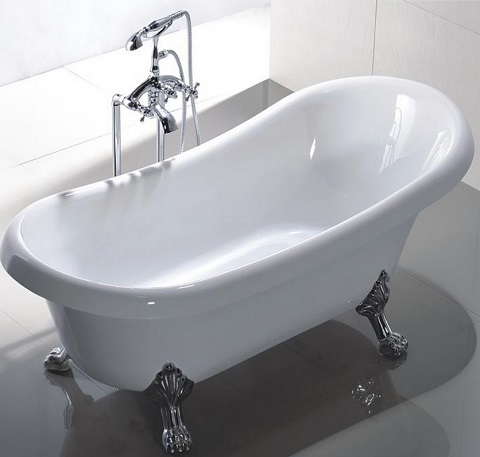 "Manhattan 63"" Acrylic Freestanding Tub MTD-MAN-63 from MTD"