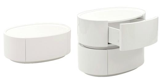 Selma Stackable Side Table With Storage From EuroStyles
