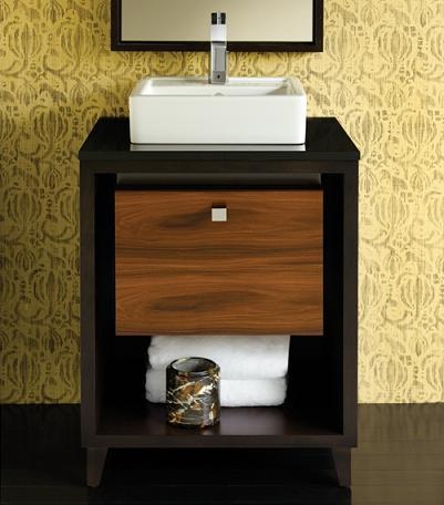 Shadowbox Bathroom Vanity From Porcher