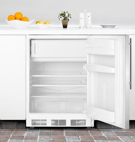 Under Counter Refrigerators Like This BI540 From Summit Have Very Limited Freezer Space