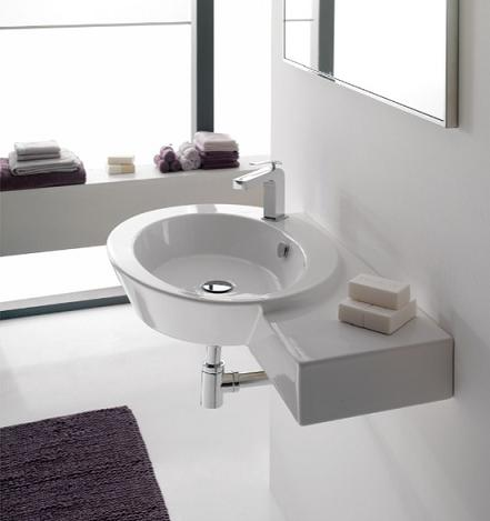 Wish Wall Mounted Sink From Scarabeo