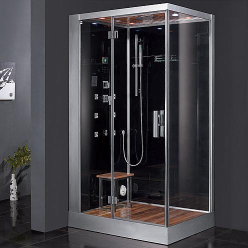 Wooden Floor Steam Shower From Ariel