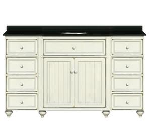 Delicieux 54 Inch Bathroom Vanity From The Cottage Retreat Collection