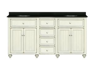 60 Inch Double Bathroom Vanity From The Cottage Retreat Collection