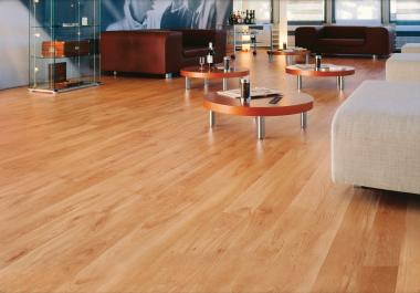 American Alder Laminate Flooring From LessCare