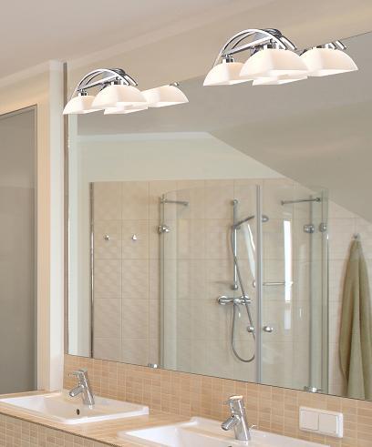 Bathroom Lighting Balancing Form And