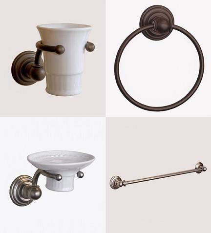 Bathroom Accessories From The Royale Collection By Herbeau