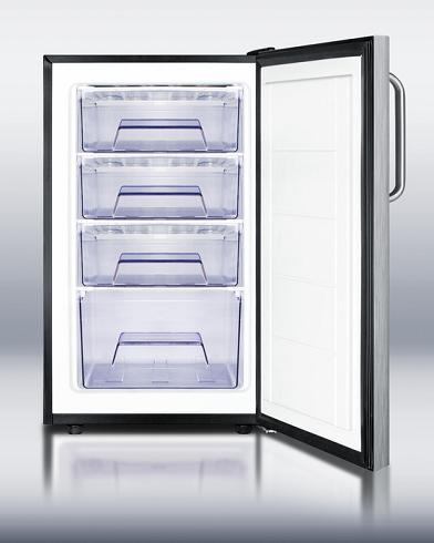 FS408BLBI Under Counter Standalone Refrigerator From Summit
