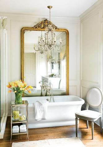 Extra Long Desk Table, Elements Of A French Country Bathroom Design