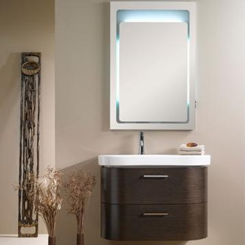 Rondo Bathroom Vanity With Backlit Mirror From Iotti
