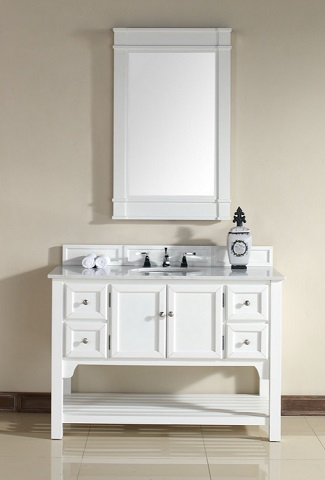 "Urban South Hampton 48"" Single Bathroom Vanity 925-V48-PWH-GWH from James Martin Furniture"