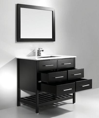 37 Inch Modern Bathroom Vanity From Legion Furniture