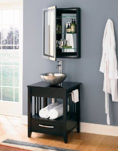 Ambrosia Bathroom Vanity With Towel Bars From DecoLav