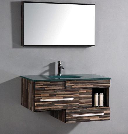 Asymmetrical Bathroom Vanities For A Stylish Modern Bathroom