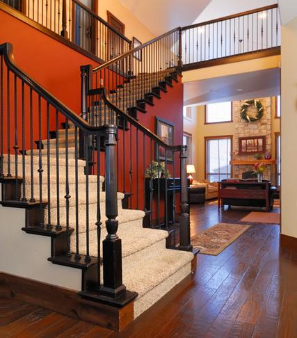 Bellevue Farm Entryway And Staircase (by Clearview Construction Group LLC)