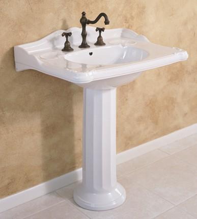 Charleston Pedestal Sink From Herbeau
