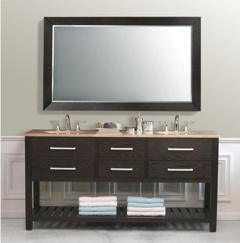 Clementina 72 Inch Bathroom Vanity From Virtu USA