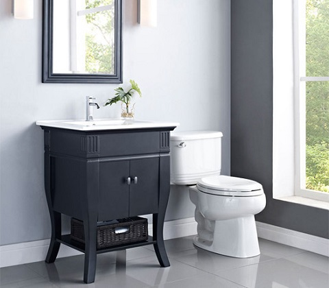 "Colorado 24"" Bathroom Vanity DR24BK from Ryvyr"