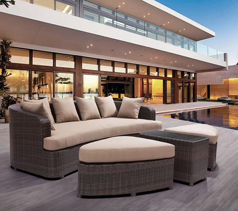Cove Beach Outdoor Lounge Set From Zuo Modern