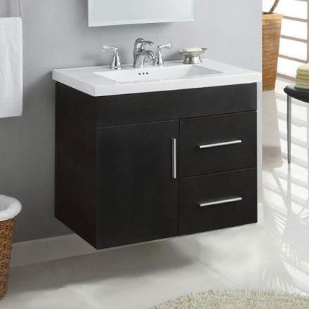 daytona wall mounted bathroom vanity from empire industries - Wall Mount Bathroom Vanity