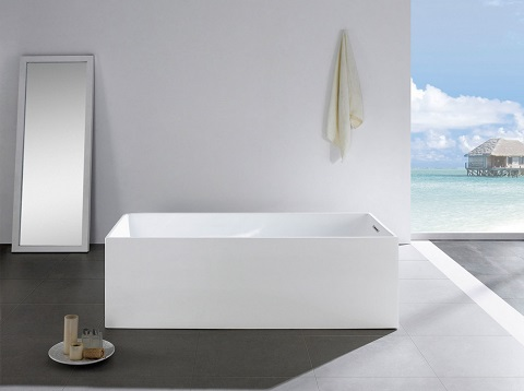 Encore 70x33 Rectangular Soaking Bathtub PBT-ENCORE-7033-CR by Pacific Collection