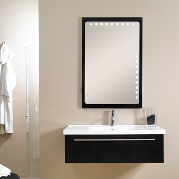 Fly Bathroom Vanity With Backlit Mirror From Iotti