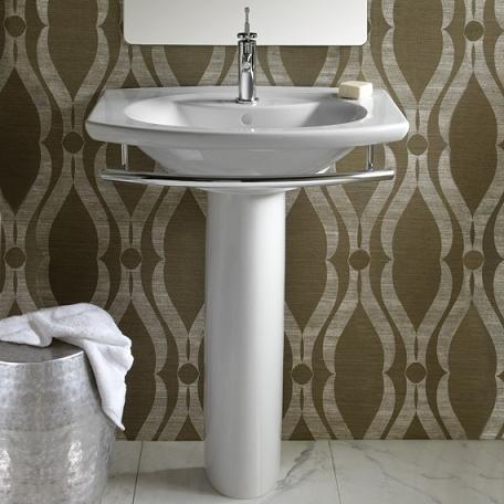 L'Expression Modern Pedestal Sink From Porcher