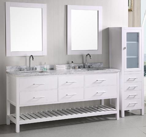 London Double Bathroom Vanity From Design Element