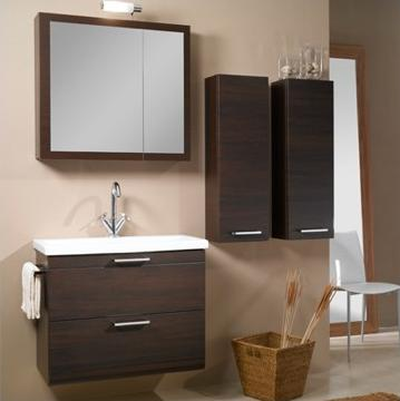 Luna L13 Bathroom Vanity With Towel Bar And Storage Cabinets From Iotti