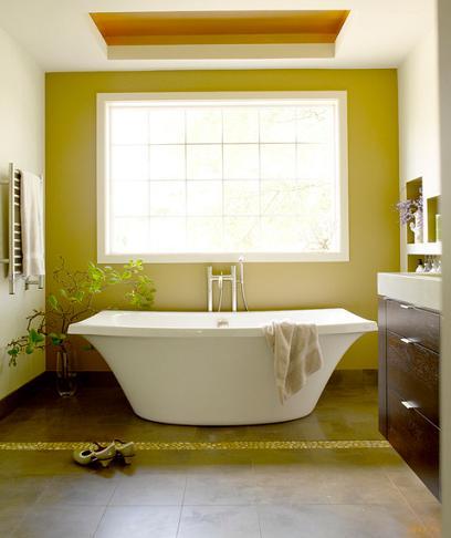 Master Bathroom Retreat (by Gennifer Gardner Design)