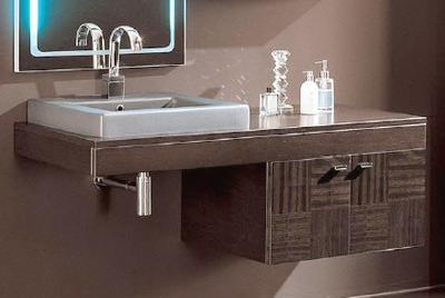 NC1 Concept One Wall Mounted Vanity From Iotti