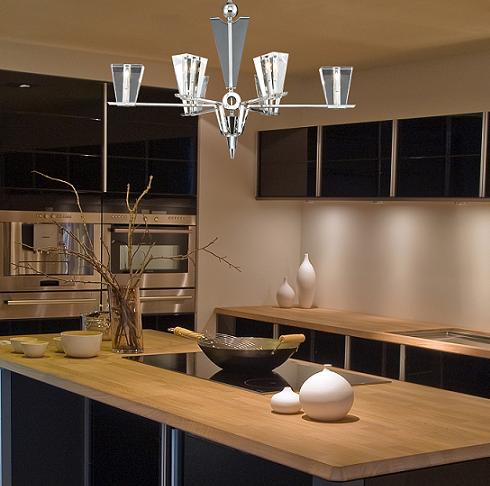 Newton Six Light Chandelier From Elk Lighting