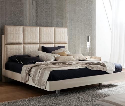 Oyster Ivory Platform Bed From Rossetto