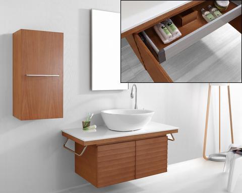Porter Wall Mounted Bathroom Vanity From Virtu USA