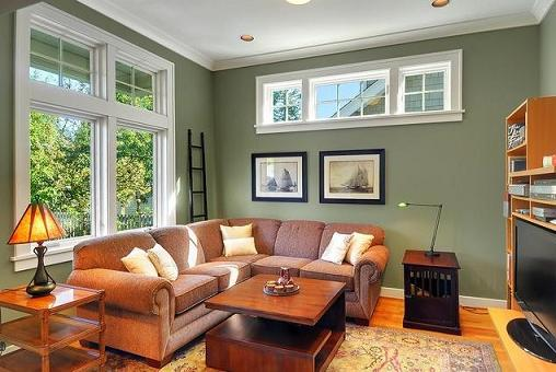 Sage Living Room (by Seattle Staged To Sell)
