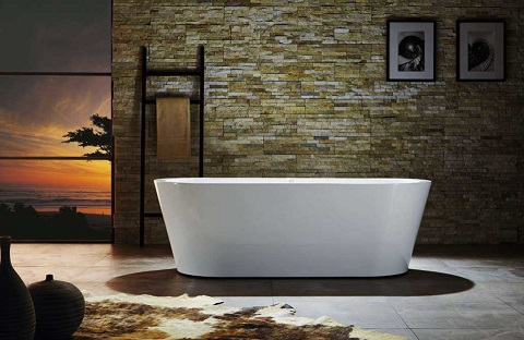 Serenity 70 x 31.5 Freestanding Bathtub VTU-1170 from Virtu USA