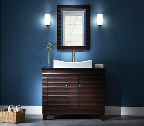 "Wave 42"" Single Vanity from Ryvyr"