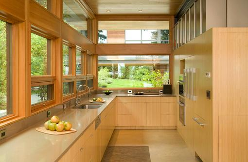 Bamboo Kitchen Cabinetry (by Coates Design Architects)