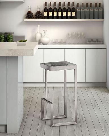 Deal Stainless Steel Bar Stools From Zuo Modern