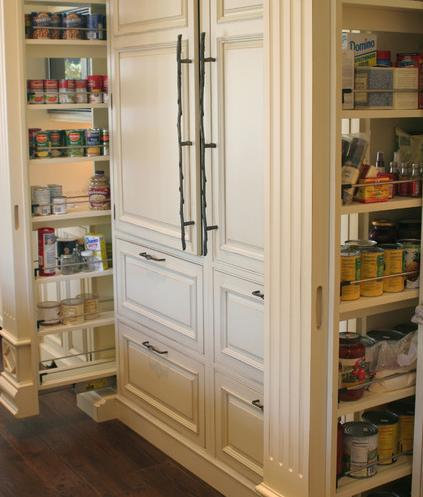 Dual Pull Out Pantries (by Rob Kane of Kitchen Interiors Inc)